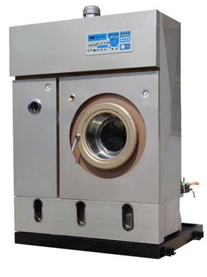 洗呢绒皮革制品电脑控制干洗机