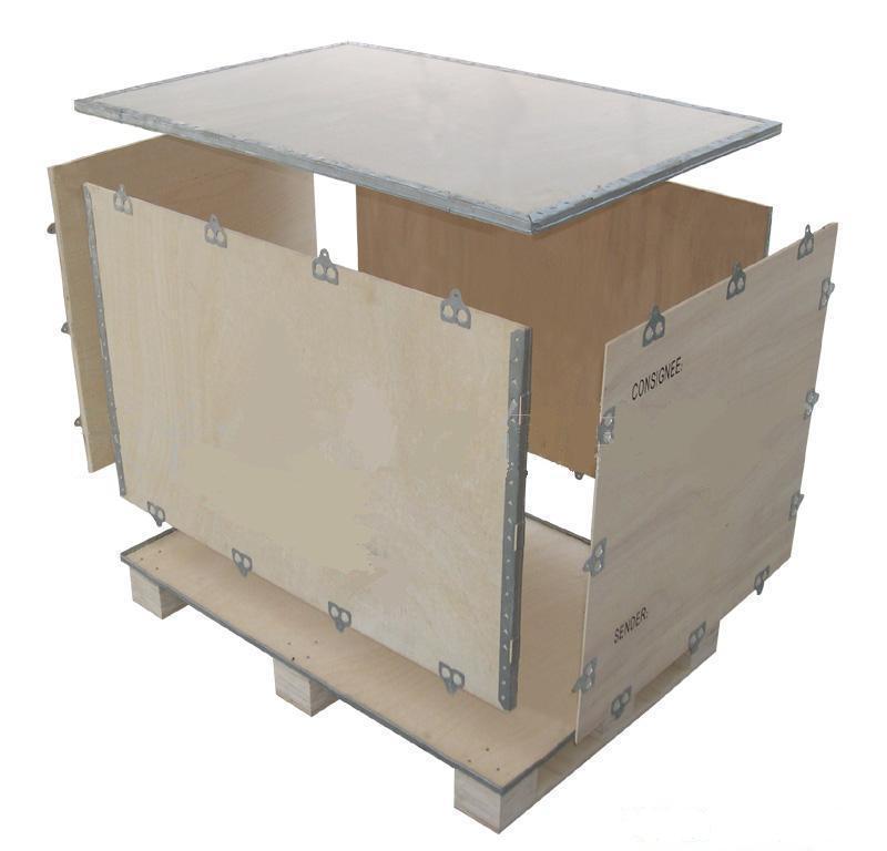 深圳创力熏蒸木箱定做大小设备包装箱