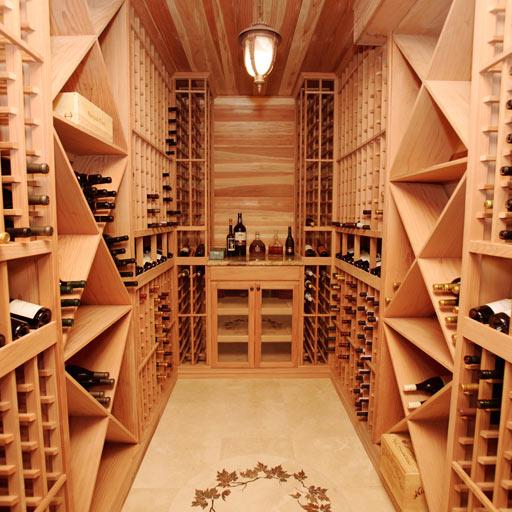 长沙实木酒架,实木红酒柜