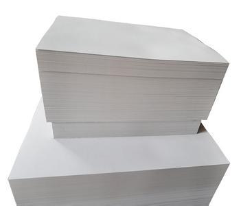 上海厂家直销进口白板纸(白底、灰底)