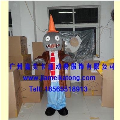 供应广州卡通道具服装行走卡通人偶