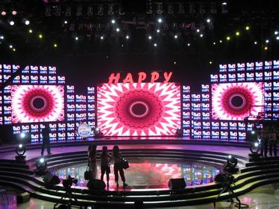 济宁低价租赁led显示屏婚庆屏舞台屏婚礼主持屏幕