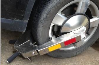 不锈钢车轮锁含税包邮中巴车车轮锁