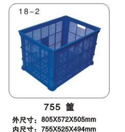 厂家销售上海塑料卡板箱