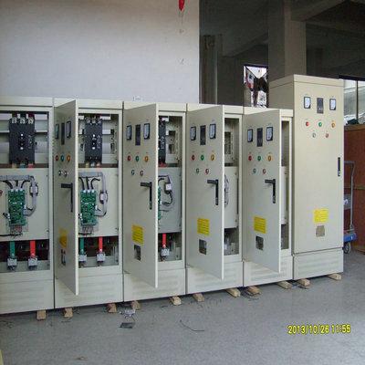 电机多重控制保护软起动柜,罗卡XJR1-160kW软起动柜