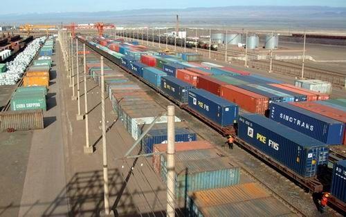 青岛、徐州、淮安、临沂、郑州至阿拉木图、塔什干、苦盏铁路运输