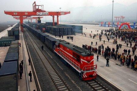 郑州、洛阳、安阳、济宁、商丘、日照至撒马尔罕、杜尚别铁路运输