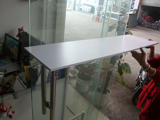 广州展会展柜专用配件 台面板9mmPVC贴面