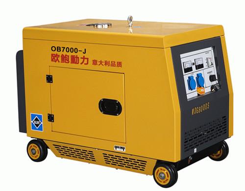 密封静音6KW柴油发电机
