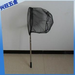 大口径密网眼抄网 不锈钢可定位捞鱼网