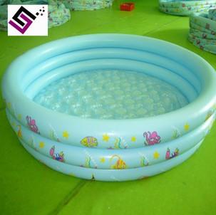 环保圆形充气水池 家庭充气戏水池