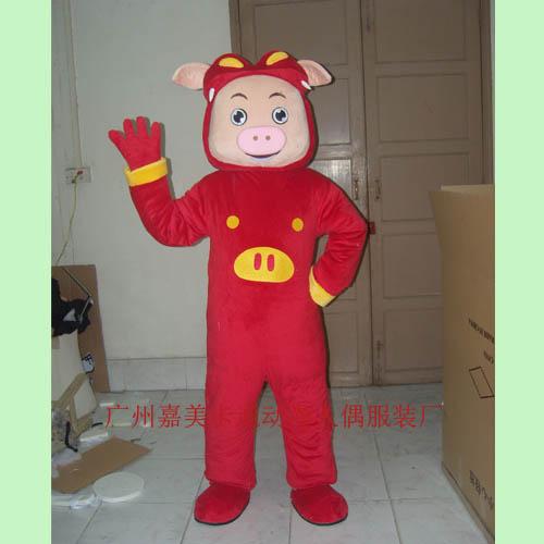 供应广州卡通人偶企业吉祥物定制卡通道具表演服装