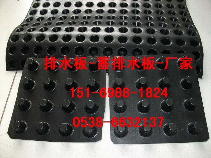 合肥建筑车库排水板%黄山20mm蓄排水板(带土工布)