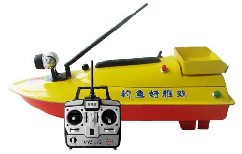 厂家直销 正品包邮智能遥控HYZ60单斗单线打窝钓鱼船