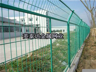 机场护栏网 V型护栏网 刀片刺网