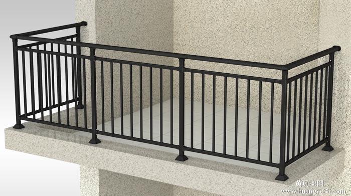 供应鑫固美家锌钢阳台小管栏杆