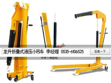 1T移动式液压小吊车,LLH-A10液压小吊车,龙海全国发货