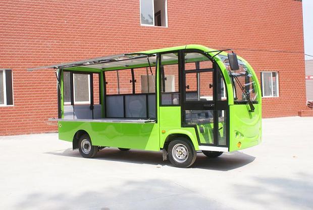 浙江台州四轮电动售货车,移动电动餐车,四轮电动餐饮车价格