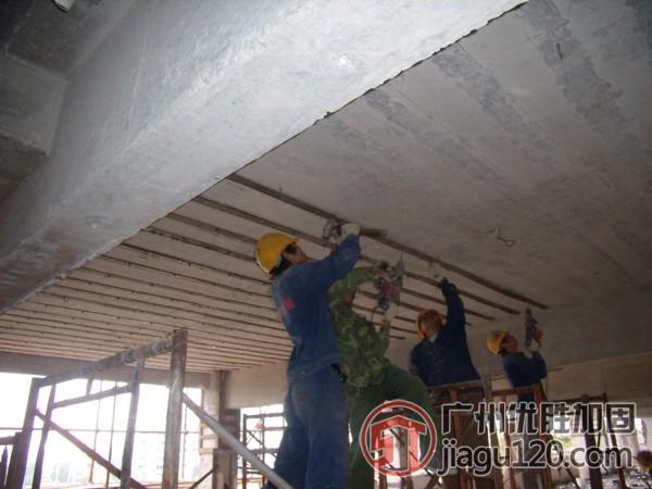 酒店改造加固报价 加固公司 粘钢结构加固