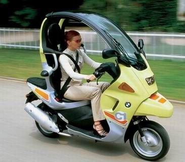 宝马C1-200,宝马踏板车,踏板摩托车,带雨棚