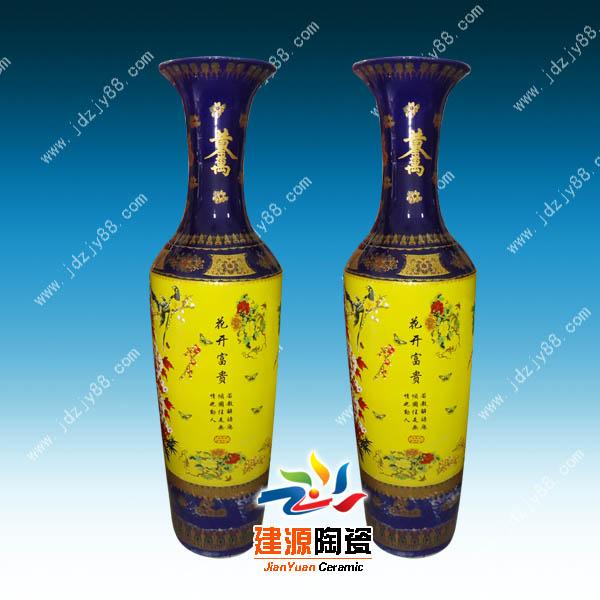 大花瓶生产厂家,陶瓷大花瓶价格批发,大花瓶图片