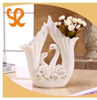 陶瓷工艺品寄花镂空工艺陶瓷