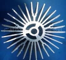 太阳花散热器铝材