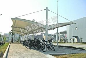 膜结构车棚厂家专业出售大批量车棚
