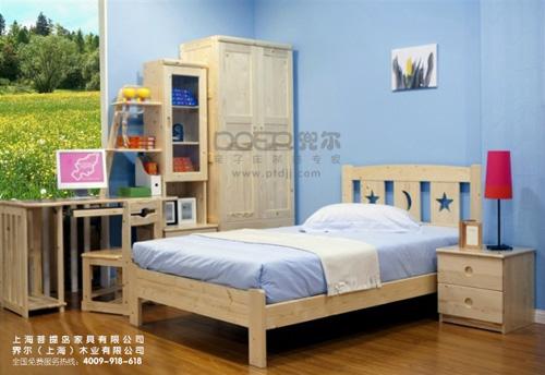 界尔家具 界尔儿童家具 界尔松木儿童家具 界尔单床