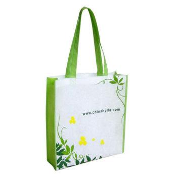 天河无纺布袋工艺,广州烫画环保袋