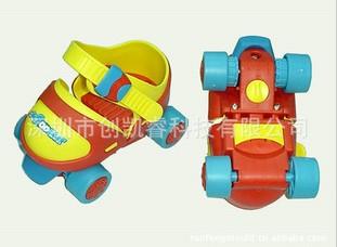 供应玩具滑轮鞋模具