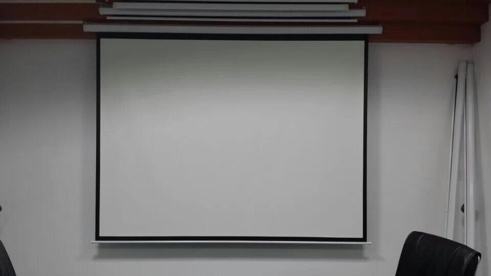 进口幕布 4:3 120寸软幕布电动幕高清投影幕布/投影仪幕布