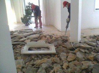 北京专业室内拆除 打桩 墙体切割开门