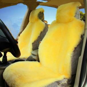 汽车座垫 冬季座垫 羊剪绒座垫