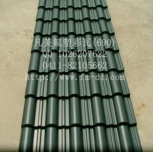 钢结构屋面挂仿古轻质树脂琉璃瓦