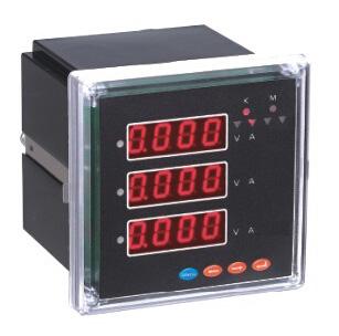 智能三相有功电能/无功电能数显仪表