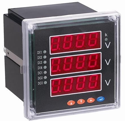 智能三相数显电压表