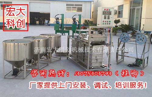 安徽亳州千张机器,全自动千张机,仿手工千张机好用吗?