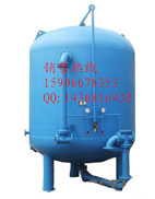 饮用水过滤器 石英砂压力过滤器  60吨参考流量