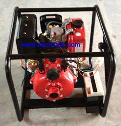 1.5寸手启动柴油消防水泵,柴油水泵178动力,现货供应