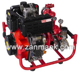 2.5寸柴油便携式手抬机动消防水泵,柴油手抬泵