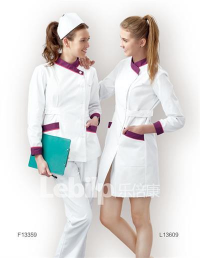 乐倍康护士服,三色碰撞设计,专业雅致,是您不二之选