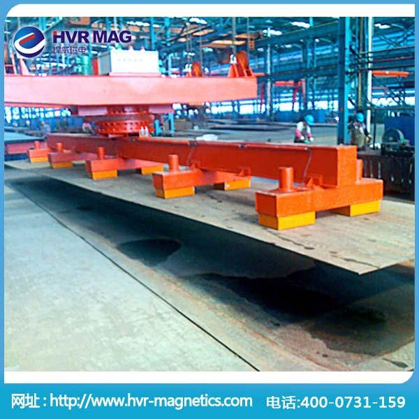 吊钢板用起重电永磁铁 钢构厂用磁力起重吸盘