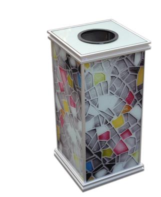 酒店客房垃圾桶果皮箱 厨房卫生间收纳桶纸篓