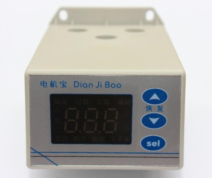 电控箱专用,电动机保护器,电机断相保护器JFY-801主要功能