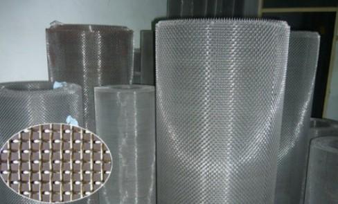 优质平纹编织不锈钢密纹网席型网