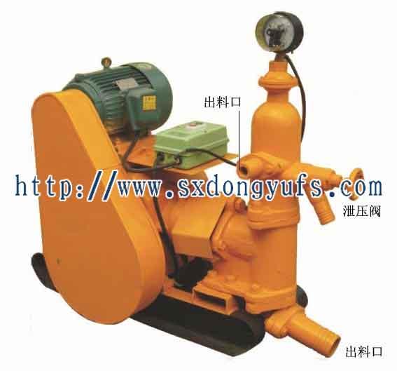 柱塞式电动水泥沙浆泵