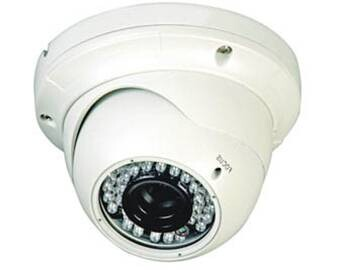 960P调焦防暴半球摄像机