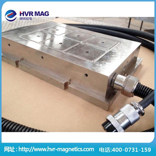 悍威首创全钢性电永磁吸盘,防水防锈电永磁吸盘