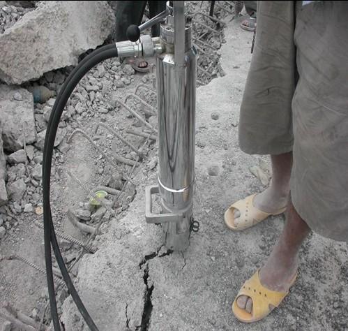 拆除路面坚硬岩石机械